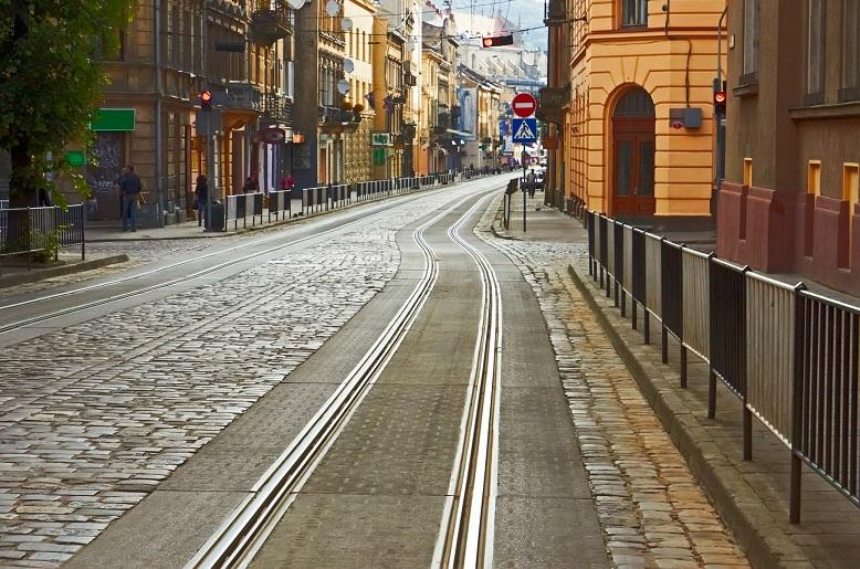 Трамвайные рельсы