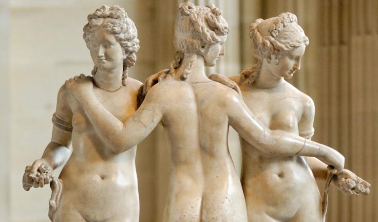 Скульптура «Три грации»