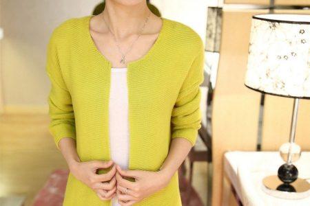 Модный женский трикотаж 2018 - от блузок до пальто