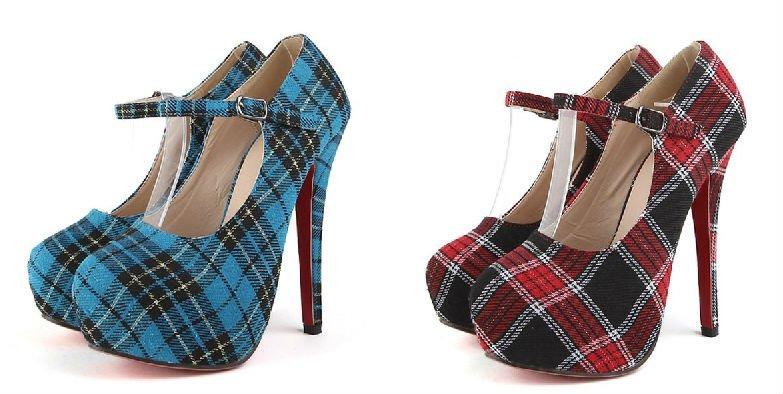женские туфли с рисунком