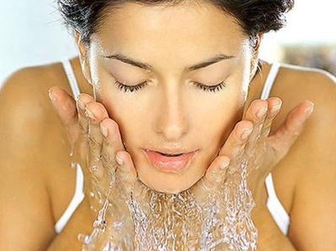 умываем кожу