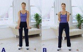 Упражнения для похудения и укрепления рук