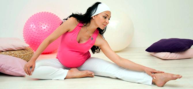 Упражнения для беременных на третьем триместре беременности