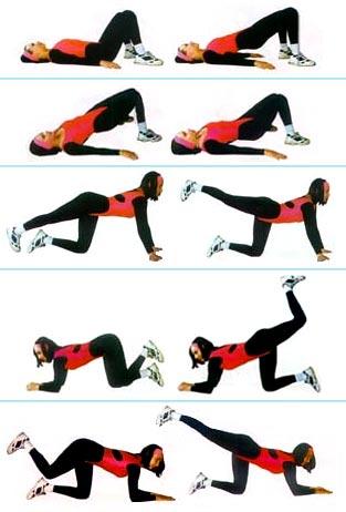 упражненияд для упругой и крепкой попки