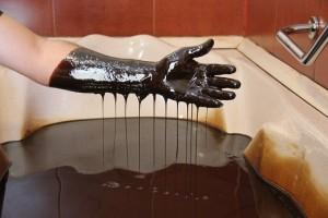 Ванна с нефтью