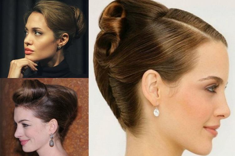 Варианты причёски улитка