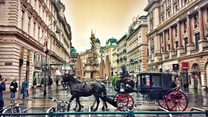 Вена. Вид на город
