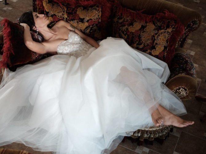 свадебное платье 1970-х годов