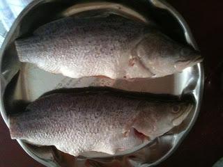 Разморозка рыбы на водяной бане