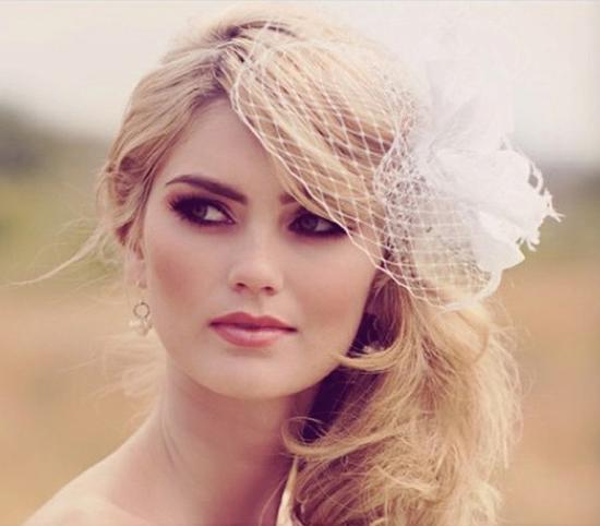 макияж невесты глаза смоки айс
