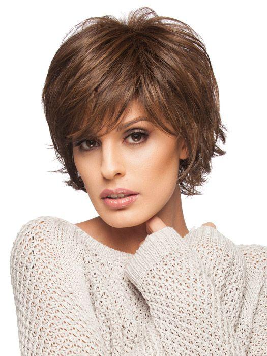 стрижка итальянка с чёлкой на короткие волосы