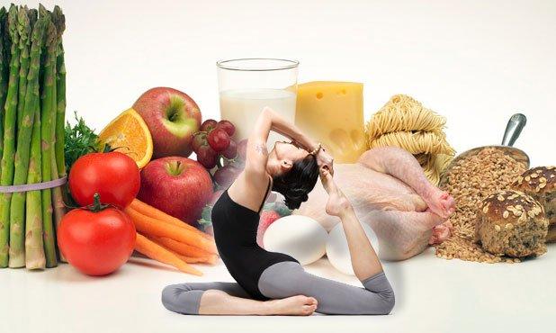 правильное питание и йога