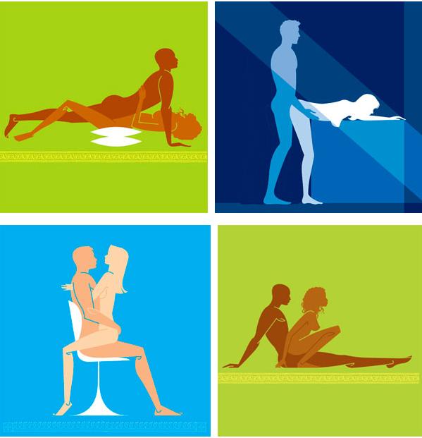 Самые благоприятные позы при сексе
