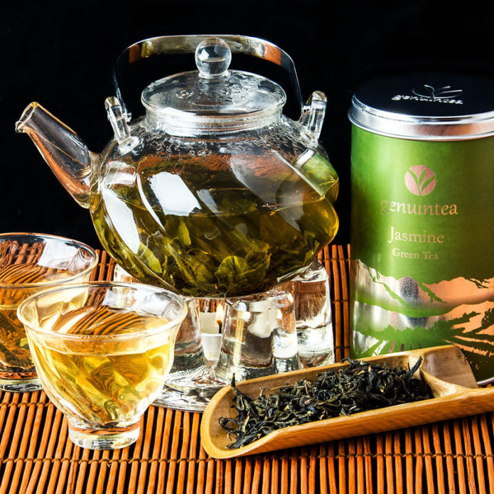 Заварка зелёного чая