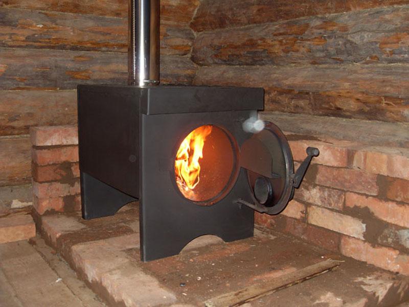 Железная печка