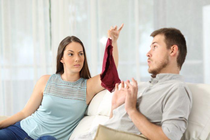 Жена узнала об измене