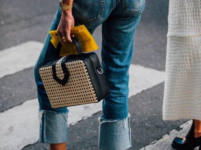 женские джинсы с талией
