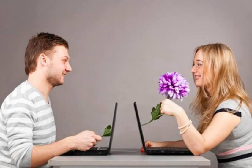 знакомство в интернете