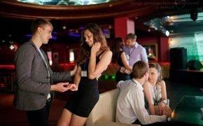 знакомство в клубе